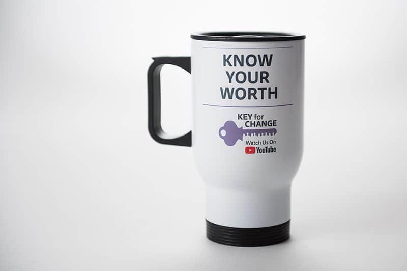 Key for Change Travel Mug