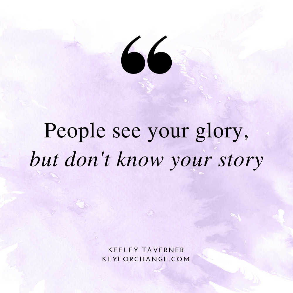 People see your glory but dont know your story: extra curriculum activities